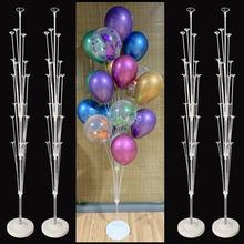 19 rohr Ballon Stehen Ballon Halter Spalte Hochzeit Dekoration Ballons Girlande Geburtstag Party Dekorationen Kinder Bachelorette Party