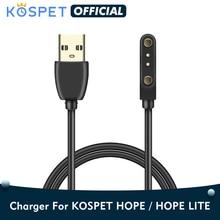 KOSPET Hope/Hope Liteสายชาร์จUSB Power ChargerสายสำหรับKospet Hope/Hope Liteสมาร์ทนาฬิกาโทรศัพท์อะแดปเตอร์สายไฟ