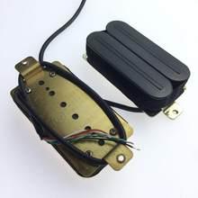2xElectric przetworniki gitarowe podwójna szyna cewki Humbucker Pickup akcesoria