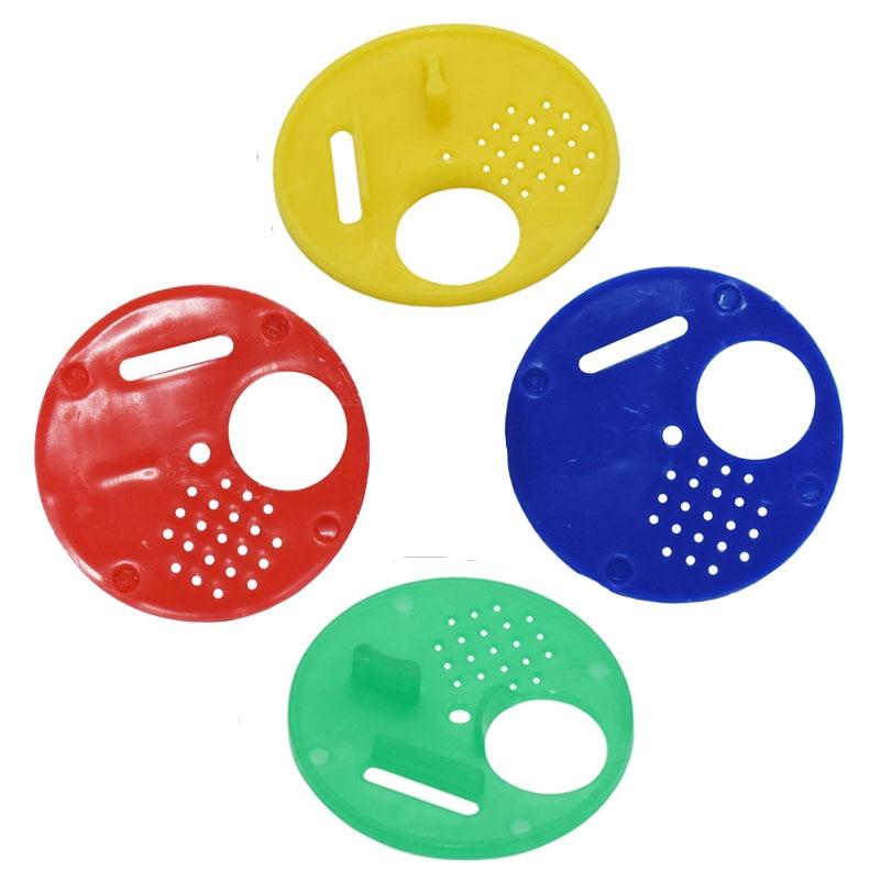 5 Pcs Beekeeping Tools Beehives Plastic Round Beehives Nest Door Vents Bee Tool Insect Supplies