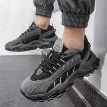 Mesh Shoes Walking Sneakers Ultralight Comfortable Men's Lace-Up Lightweight Outdoor