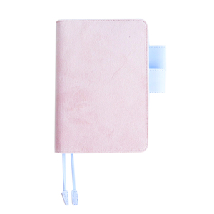 Image 5 - A5 A6 Cloth Cover Loose Leaf Notebook Cover Binder Filler Grid Paper Seperate Planner Receive Bag Card Storage Paper Notepad