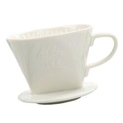 Ceramiczny ręczny filtr do przelewowego zaparzania kawy stożek z uchwytem na kubek (biały  200ML   300ML)|Filtry do kawy|Dom i ogród -