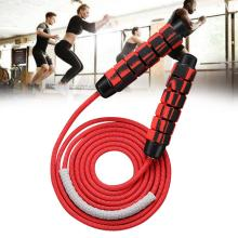 New Ball Bearing Jumping Rope Untangled Fast Cable Fitness Training Memory Foam Handle For Aerobics Endurance
