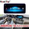 10.25 /12.5 cala Android 10 Android wyświetlacz 4G dla Benz C GLC klasa W205 2015-2018 ekran radia samochodowego GPS Head UP ekran dotykowy
