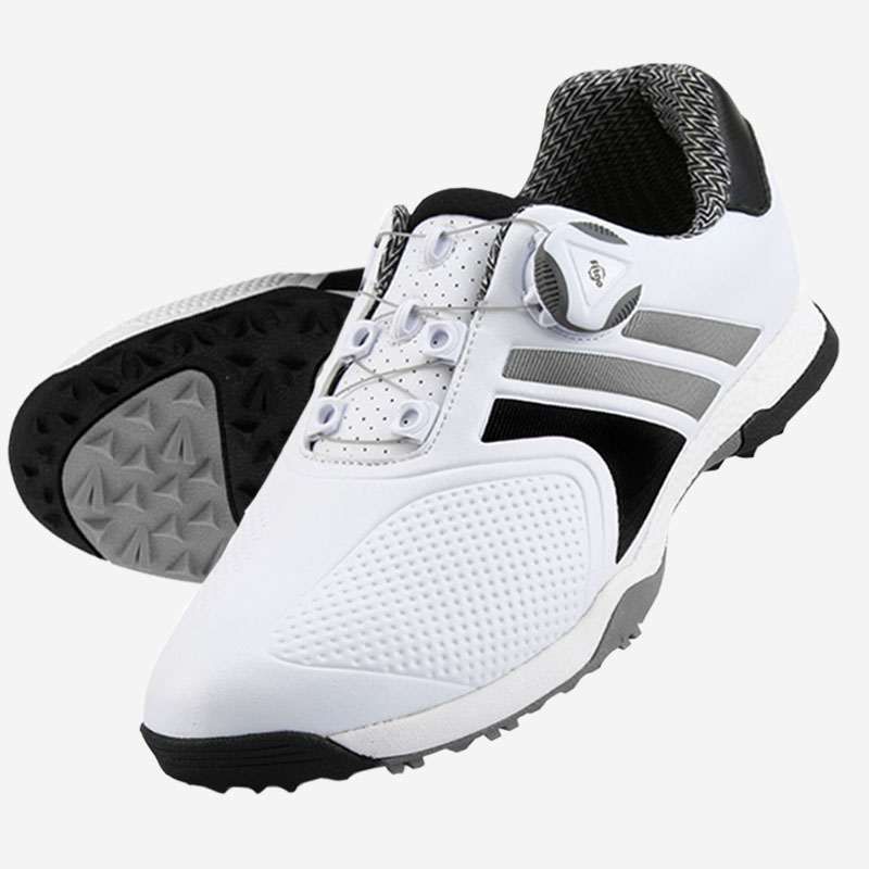 Sneakers Waterproof Mens Golf Shoes Breathable Fitness Training Golf Shoe Non-slip Rotating Buckle Golfshoes Golfschoenen Heren