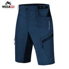 Wosawe весна лето мужские шорты для езды на мотоцикле дышащие