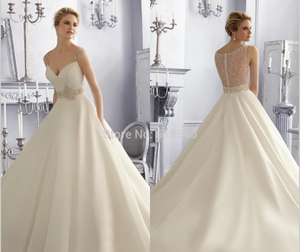 Vestido De Noiva Free Shipping Robe De Soiree 2016 New Fashionable Hot Sexy Crystal Romantic Wedding Dress Bride Bridal Gown