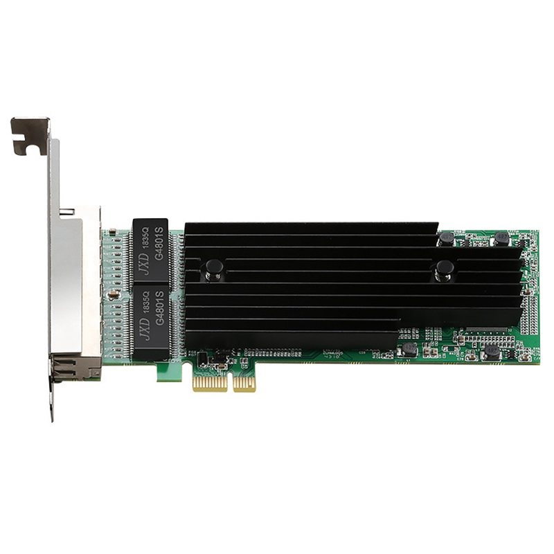 4 Poorten Gigabit Ethernet Pci-Express 1X Server Adapter Netwerkkaart T4 TXA063