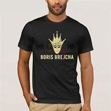 DJ BORIS BREJCHA T-SHIRT High-Tech Minimal Techno Music Unisex men & Kids A37  Cartoon t shirt men Unisex New Fashion tshirt цена и фото