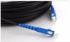 Image 3 - Cabo de remendo da fibra ótica de ftth do cabo de remendo da fibra ótica de singlemode cabo de remendo da gota exterior de 50 m sc upc simples ftth cabo de remendo da gota