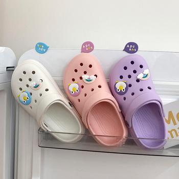 Gorąca sprzedaż różowe słodkie letnie klapki damskie plażowe sandały antypoślizgowe wygodne lekkie sandały wyjściowe kobieta zuecos de mujer tanie i dobre opinie oein CN (pochodzenie) podstawowe Płaskie z Otwarta Mieszkanie (≤1cm) Na co dzień Wsuwane Dobrze pasuje do rozmiaru wybierz swój normalny rozmiar