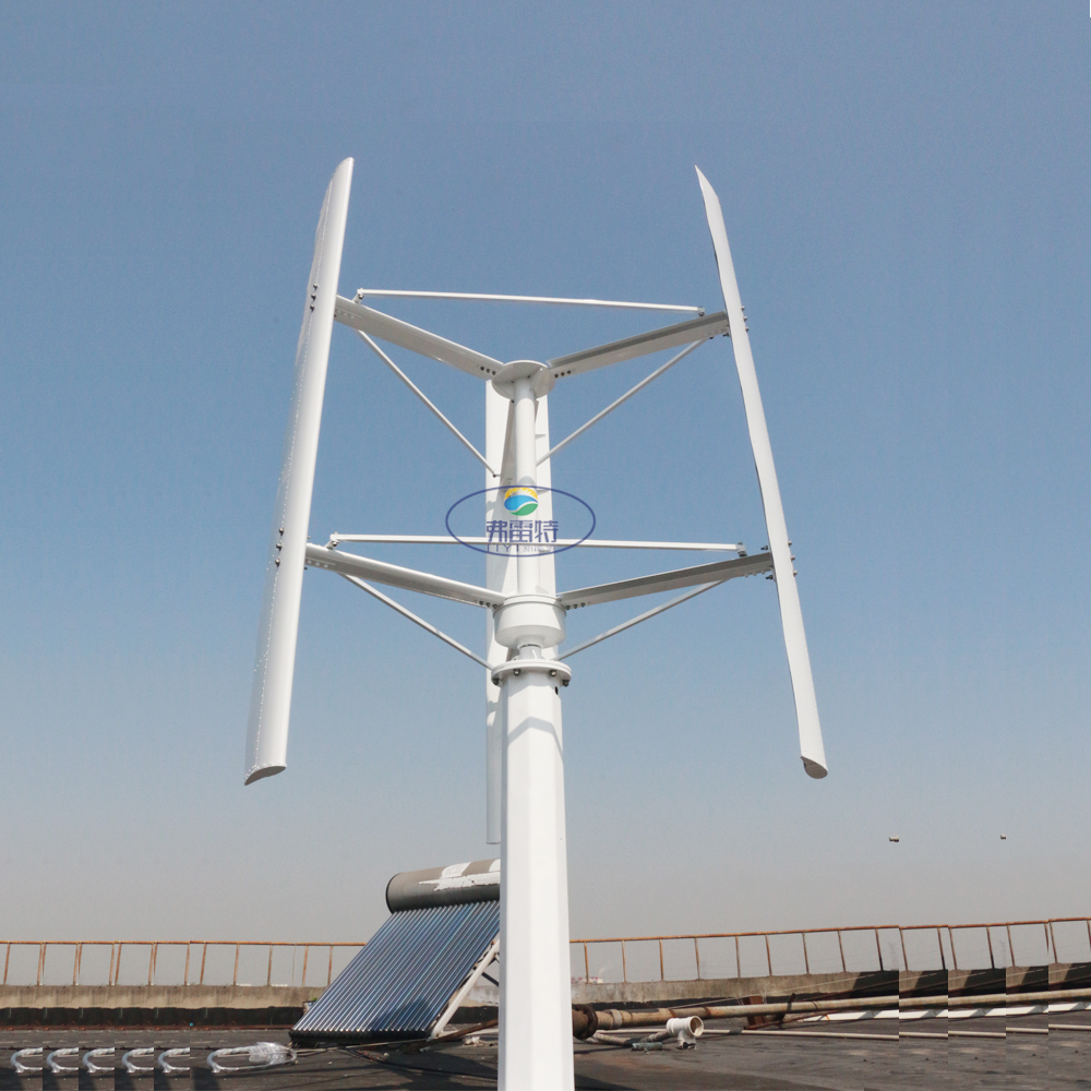 Générateurs de dynamo d'énergie éolienne 1000W 2000W 48V 96V 120V groupe electrogene avec contrôleur