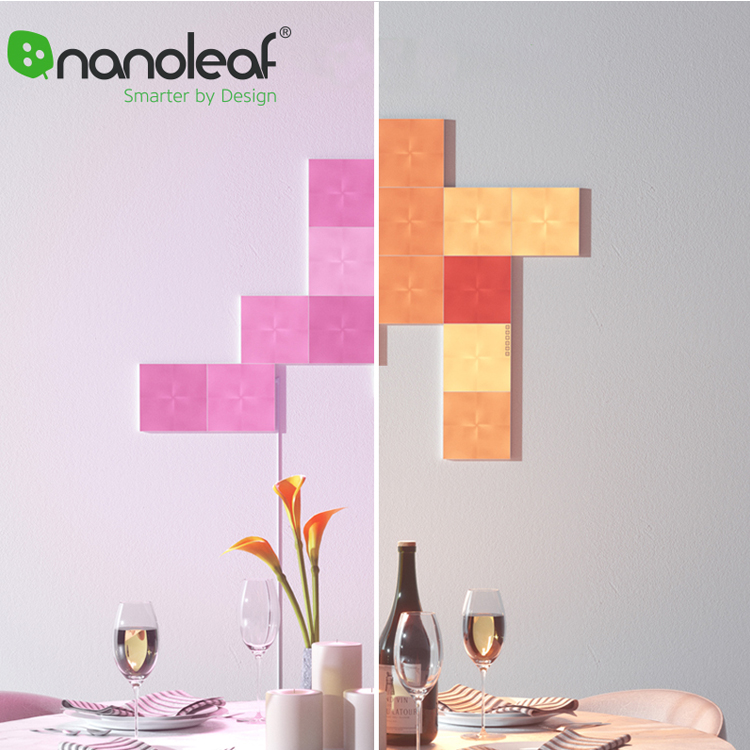 Goods Collection  Original Nanoleaf Full Color Smart Odd Light Board panels Work with Mijia for Apple Homekit Google