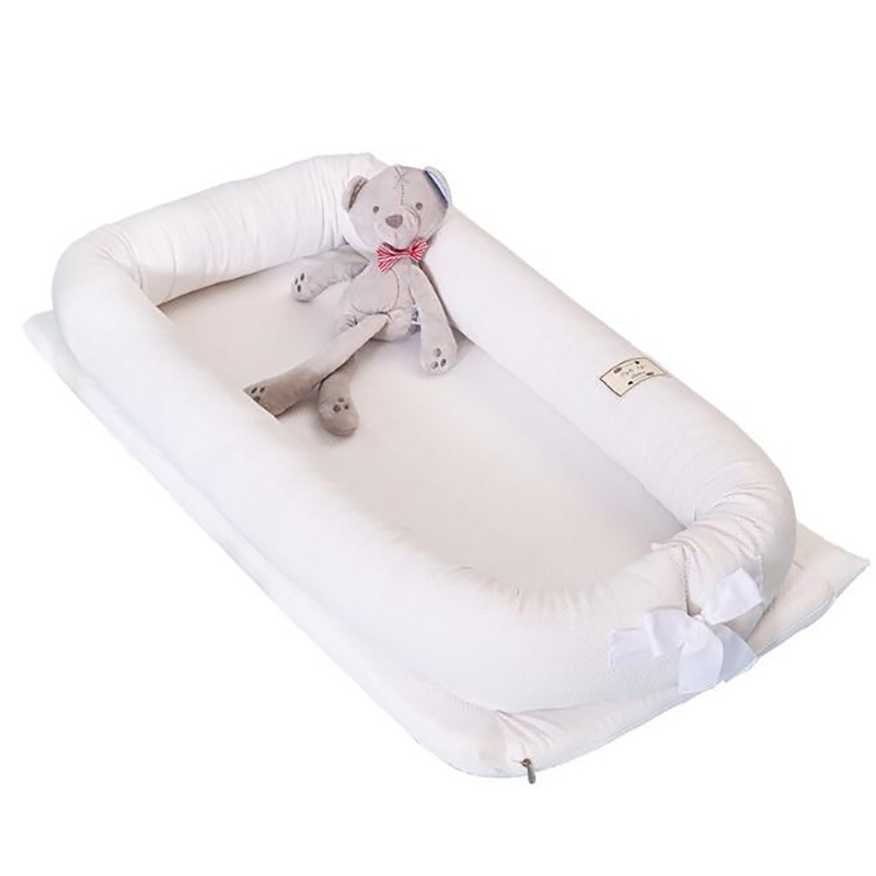Newborn baby Crib Portable Crib Nest Baby cot cotton moses basket  bed Anti-rollover protection pad YHM008