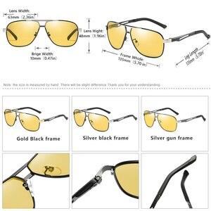 Image 4 - Gafas de sol de piloto fotocromáticas HD para hombre y mujer, lentes polarizadas de día y noche para conducir, camaleón antideslumbrantes