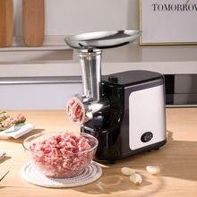 Broyeur à viande électrique domestique et commercial en acier inoxydable, appareil multifonctionnel pour hacher et farcir la viande