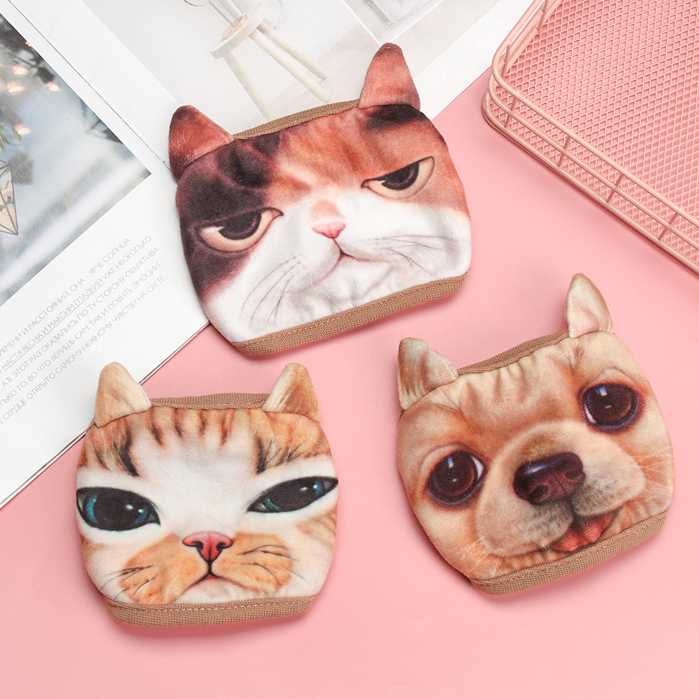 3D Animal Cat Mouth Masks Women Men Anti-dust Cotton Mouth Face Mask Cute Unisex Fashion Masks
