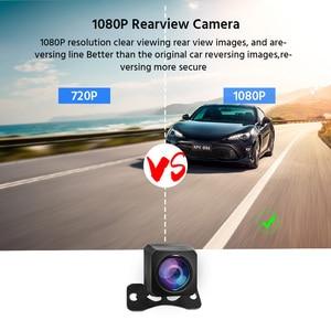Image 4 - Автомобильный видеорегистратор 2K Stream Media, зеркало заднего вида с сенсорным FHD 1080P, двойной объектив, видеорегистратор с ночным видением, видеорегистратор