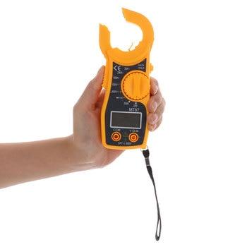 MT87 Multimetre LCD Dijital Kelepçe Metre Ölçüm Araçları AC/DC Voltmetre Akım Direnç Test Aleti Ölçer