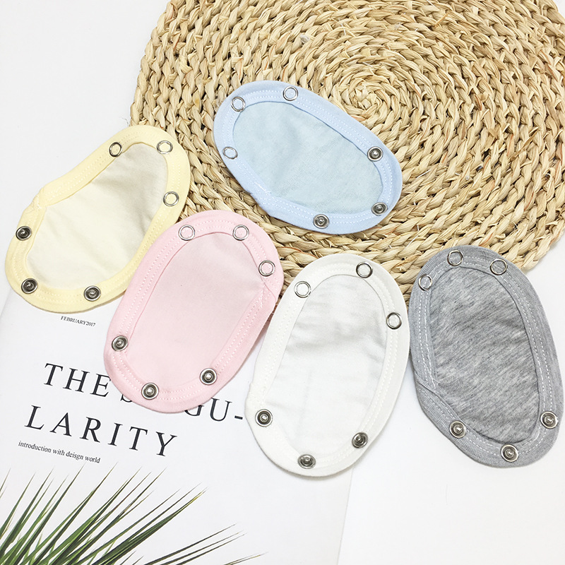 4PCS Baby Romper Crotch Extenter Bodysuit Diaper Changing Pad Jumpsuit Lengthen Extender Film For Rompers Baby Kids Accessories