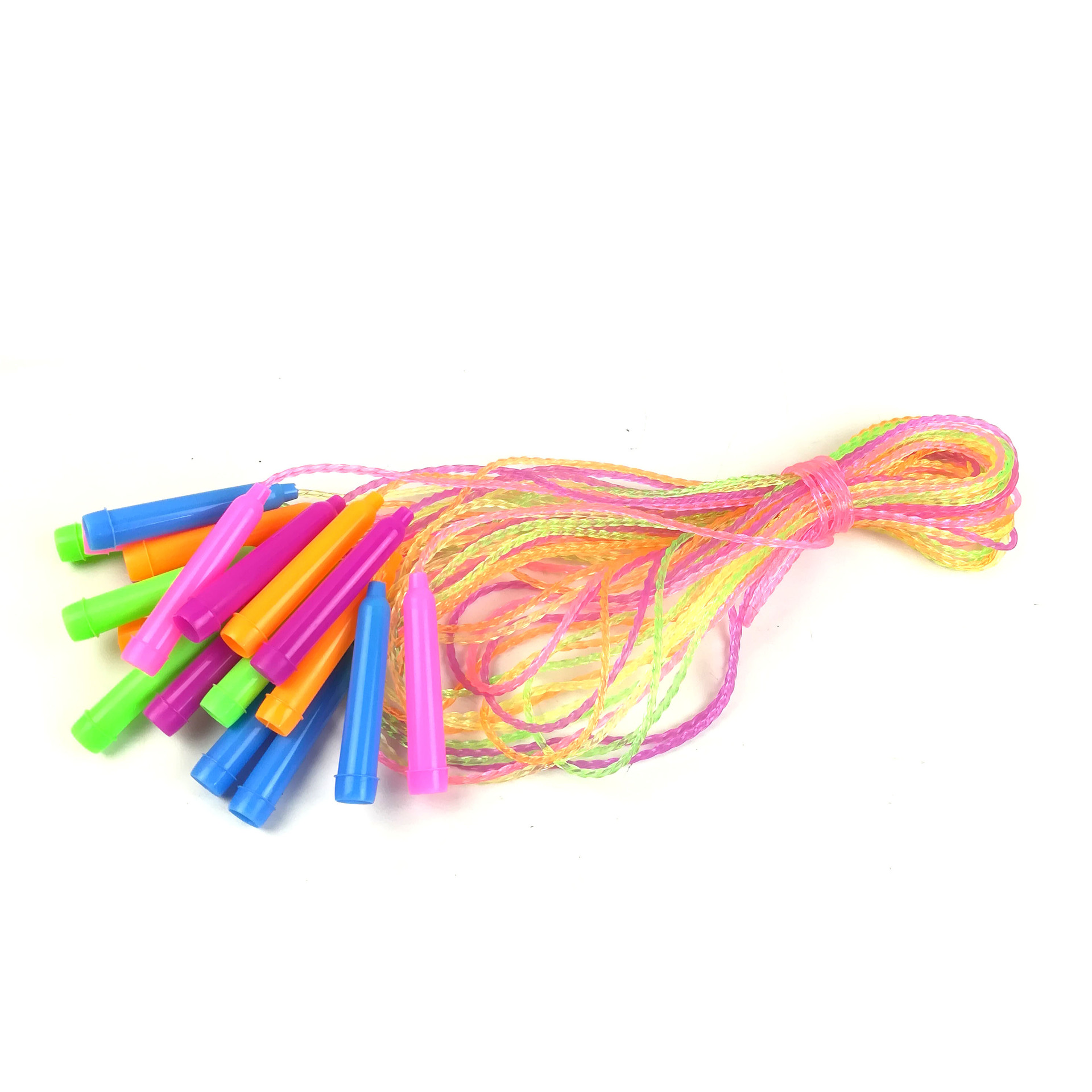 Children Color Crystal Rope Skipping Cute Flash Rubber Kindergarten Youth Fragrance Primary School Length Adjustable Short