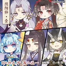 Keyring Game-Onmyoji Keychain School-Bag Cosplay Anime Demon Girl Acrylic Xmas-Gifts