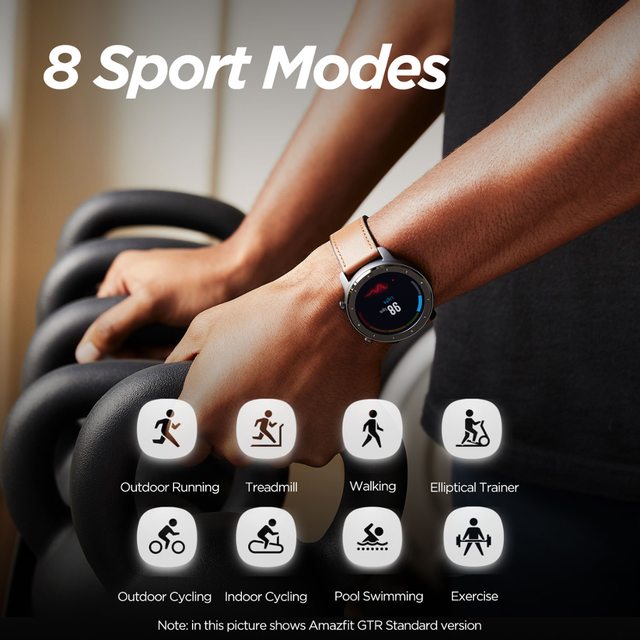 In Stock Amazfit GTR 47mm Lite Smart Watch Swimproof Smartwatch 24 Days Battery for Android ios phone 3