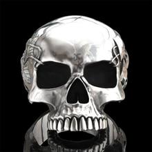 Творческий индивидуальное Дутое череп голова; Модная популярная