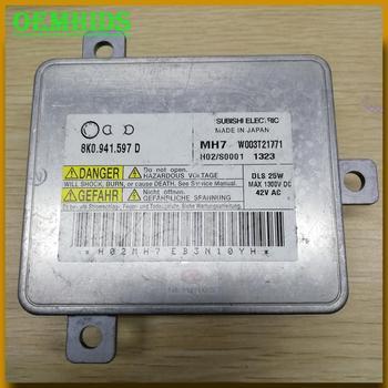 8K0941597D DLS Xenon Headlight control unit Ballast Used original OEMHIDS W003T21771 D8S D6S for A1 Amarok Caddy Macan