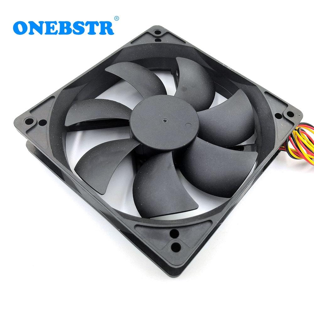 12025 Brushless Fan DC 5V 12V 24V 120X120X25mm Computer PC CPU Case Cooling Fan Refrigerator appliance repair 12cm Cooler Fans