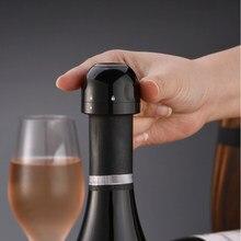 2/5 pçs garrafa de vinho tinto rolha champanhe rolha de cortiça selado mini alimentos-grau abs espumante vinho rolha barra ferramentas cozinha casa
