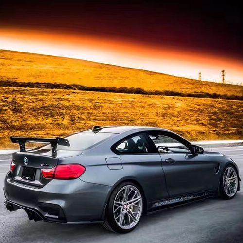 Pour BMW 1M M3 E82 E87 E90 E92 E93 F30 F10 révozport Style GTS fibre de carbone matériel aileron arrière moulure de coffre