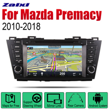ZaiXi Auto Radio 2 Din Android Car DVD Player For Mazda Premacy 2010~2018 GPS Navigation BT Wifi Map Multimedia system Stereo