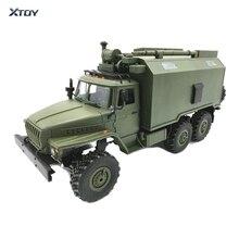 1 6WD ミニ カーモデル軍用トラックコマンド通信車両