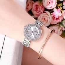 цена на Luxury Ladies Quartz Watch Fashion Casual Women Watches 2019 Waterproof Female Wristwatch Gift Clock Relogio Feminino Reloj Muje