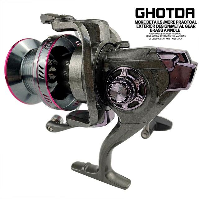 Ghotda Spinning Reel 20-30KG Max Drag Power Fishing Reel