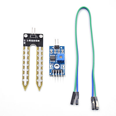 20pcs/lot Soil Hygrometer Humidity Detection Module Moisture Water Sensor Soil Moisture