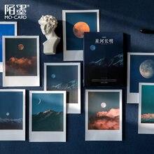 30 folhas/pacote kawaii bonito céu lua mar adesivo diário planejador adesivos scrapbooking escola material de escritório bala diário sl2617