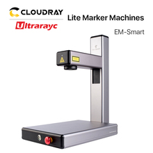 Ultrarayc 2020 New Arrival 1064nm Fiber Laser Marking Machine EM-Smart 20W Raycus High-end DIY Gifts Free Shipping DHL FEDEX