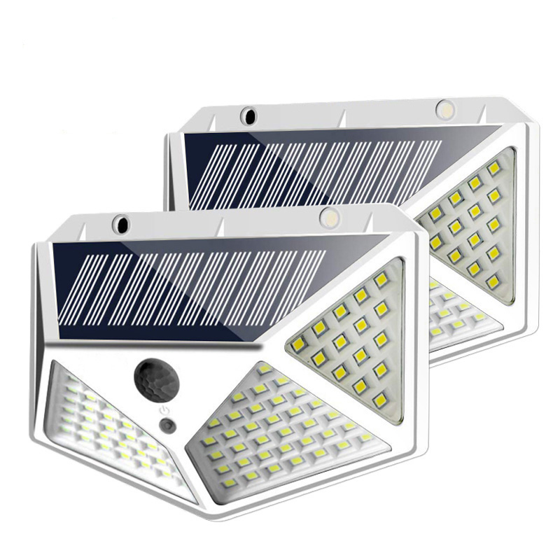 High Bright LED Solar Light Wireless PIR Motion Sensor Lights Waterproof Security Solar Wall Lamp For Garden Backyard
