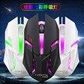 Игровая проводная мышь Yunguo S1, светильник, USB, для ноутбука, игровая мышь CF LOL