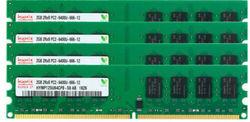 8G (4X2 G) DDR2 800Mhz PC2-6400 DIMM Desktop RAM 240Pins 1.8V NON ECC Bulk/Lot