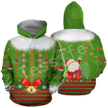 Tessffel Santa Claus Christmas MenWomen HipHop 3Dfull Printed Sweatshirts/Hoodie/shirts/Jacket Casual fit colorful funny Style29