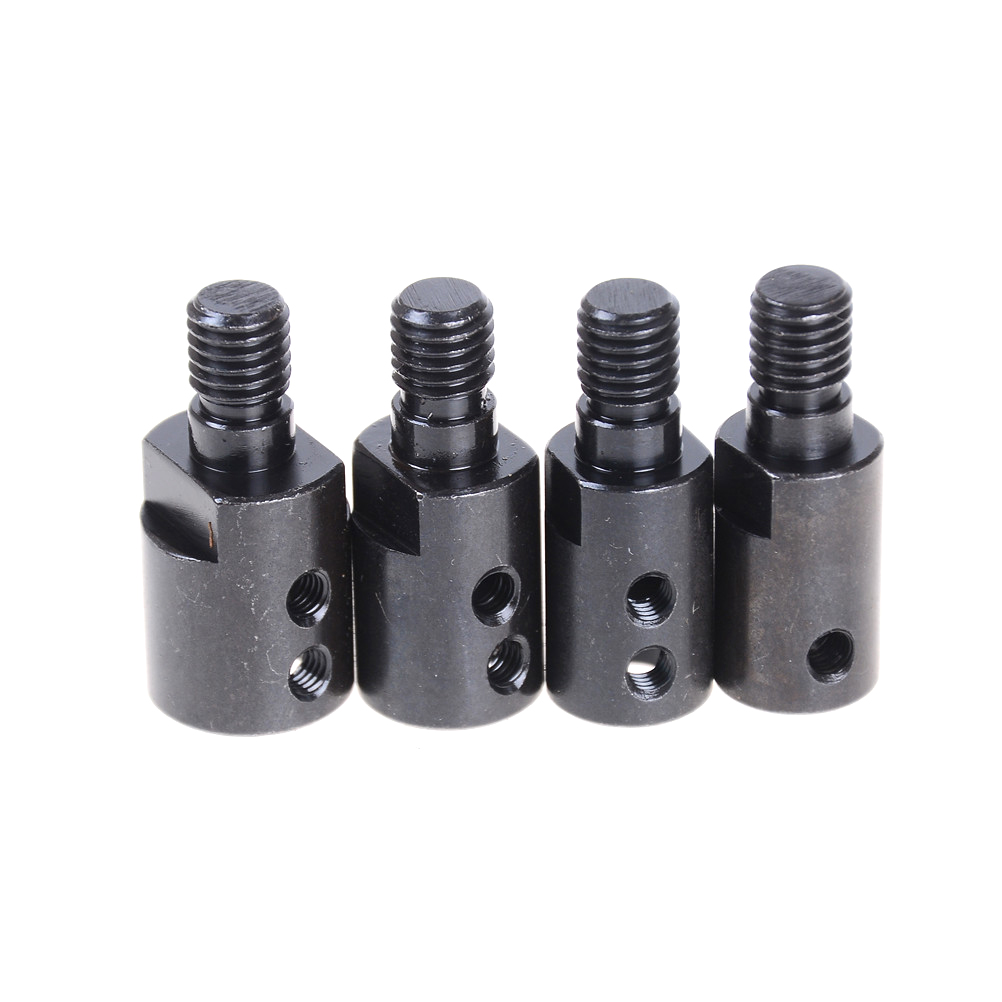 Black 5mm/8mm/10mm/12mm Shank M10 Arbor Mandrel Connector Adaptor For Angle Grinder Cutting Tool Accessory