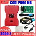 CGDI Prog MB для Benz поддерживает все Утерянные ключи Быстрый добавить ключ с адаптером ELV & Simulator & адаптер переменного тока & EIS ELV оригинальный CGDI д...