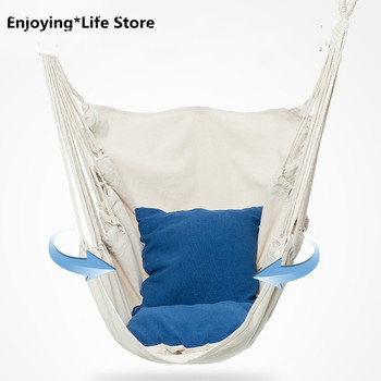Home Hammock Outdoor Hammock Swing Lazy Cradle Chair Children Adult Camping Hammock Swing Chair load bearing 100kg easy to carry outdoors reticular overstriking nylon rope hammock adult children outdoor sport swing