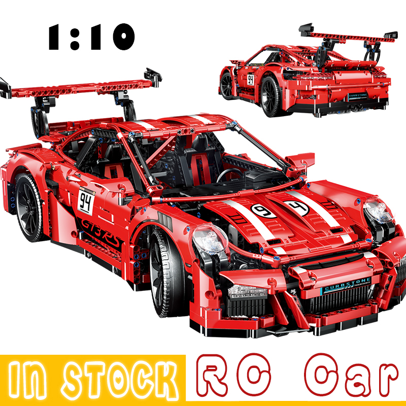 City Racing Car Blcosk Remote Control Technic RC Car Electric Truck Building Blocks Bricks Toys For Children Gifts 1:10 2718Pcs