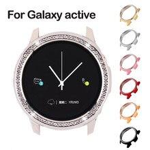 Galaxy assista caso ativo para samsung galaxy assista ativo 2 40mm 44mm protetor de pára-choques hd cobertura completa caso proteção da tela