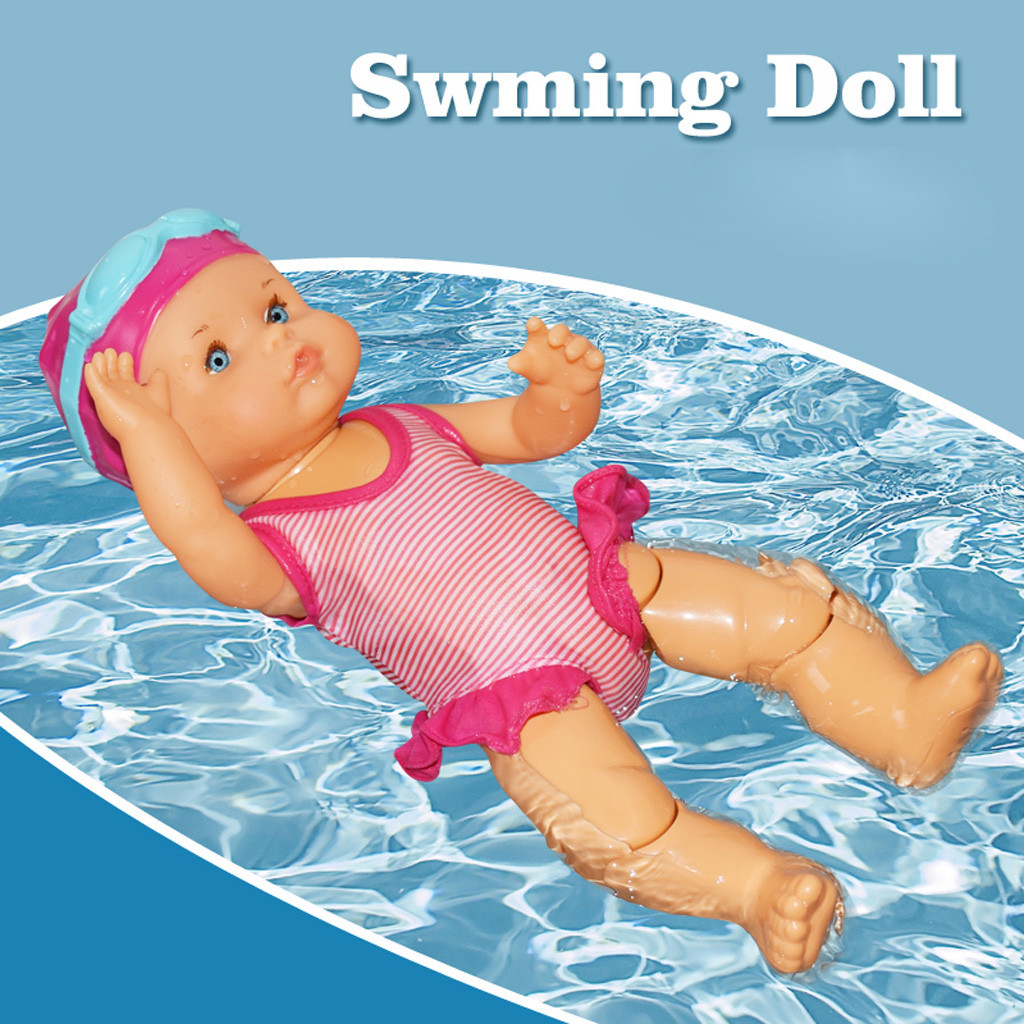 Water Fun Swimming Pool For Waterproof Electric Doll Best Gift Toy For Children